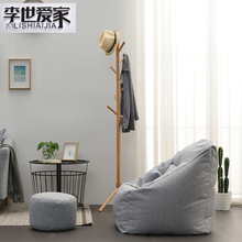 阳台懒的沙发豆袋es5性创意(小)ui可爱单的榻榻米创意迷你躺椅