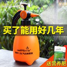 浇花消es喷壶家用酒ru瓶壶园艺洒水壶压力式喷雾器喷壶(小)