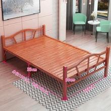 #折叠es单的双的午ud午睡实木i板成的家用12米15硬#