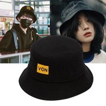 男嘻哈et牌帽子男潮pn搭盆帽日系个性潮流圆帽鱼夫帽女