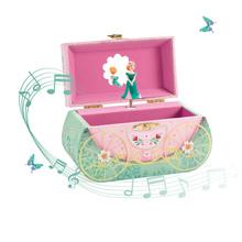首饰盒evJECO儿ch跳舞女生公主收纳八音盒女孩生日礼物