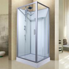 长方形ex浴房整体浴es式家用钢化洗澡间沐浴房卫生间