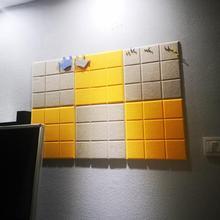 留言板ey木软木片装lo象墙墙板提示牌背景可定做壁挂式展板