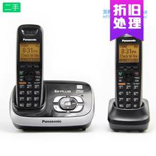松下数ey答录无绳6lo子母机无线固定电话家用座机对讲壁挂