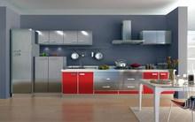 厦门3f14不锈钢整1l定制实木门晶钢门板烤漆门板地柜吊柜定制