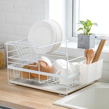 厨房放f1架沥水架家os碗碟架装碗筷子收纳盒晾碗收纳篮置物架