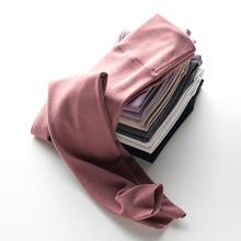 高腰收fa保暖裤女士on身德绒自发热加厚加绒无痕打底裤冬