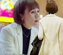 我的前fa生新式西装hi袁泉同式春秋中长式白色韩款(小)西装女潮