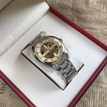 双面镂fa手表男表全mi械表精钢夜光2019新式防水正品男士手表