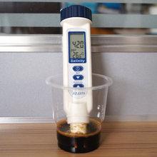 正品台fa衡欣AZ8mi笔式海水咸度盐分检测仪水产养殖盐度测