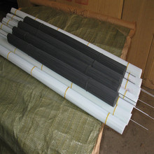 DIYfa料 浮漂 ry明玻纤尾 浮标漂尾 高档玻纤圆棒 直尾原料