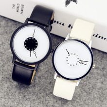 insfa院风韩款简ta创意个性潮流概念防水男女中学生情侣手表