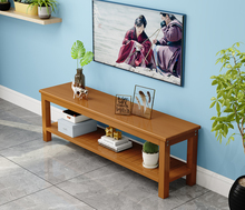 现代简fa实木电视柜li客厅卧室简易(小)户型经济型电视机柜地柜