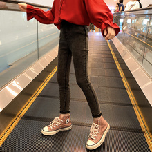 女童裤fb春装外穿2ok新式洋气大童装女孩春秋式打底裤