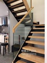 美木室内fe1木楼梯定za梯扶手栏杆(小)柱定制定做复款阁楼成都