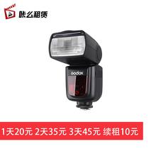 【租赁feGodoxer V860II 热靴尼康索尼相机外拍平面摄影