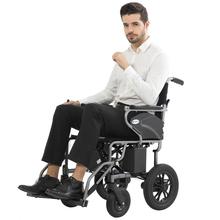 互邦电fe轮椅新式Hiv2折叠轻便智能全自动老年的残疾的代步互帮
