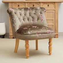 沙发布艺(小)户fi3客厅北欧on轻奢网红阳台椅子服装店老虎凳