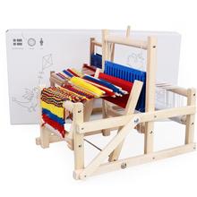新式 fi号手工玩具aa童 制作围巾纺车编织 (小) 女孩