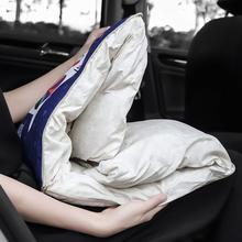 汽车用fi枕被子两用or睡卡通空调被创意冬季保暖车载冬季用品