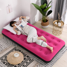 舒士奇fi充气床垫单re 双的加厚懒的气床旅行折叠床便携气垫床