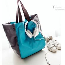 超大容fi加厚可折叠re物袋 购物包 高强度环保袋买菜袋