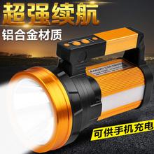 强光手fi筒充电手提us氙气大功率户外超亮远射程家用超长续航