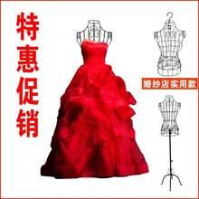 墙上衣fk子白色衣架sk壁式做衣服拍摄女装店摆设模特架服装架