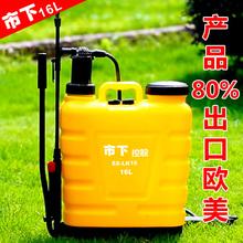 出口手fl喷雾器背负st机喷药喷雾农用喷雾器消毒园艺喷壶