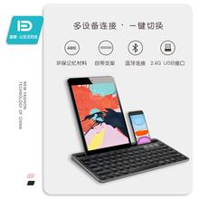 ipafl键盘蓝牙无sj充电苹果2019平板电脑专用笔记本air pro女生可爱