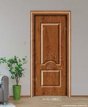 义乌金fm厂家直销生r3免漆门 实木复合 原木门 室内门强