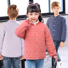 宝宝棉fn加厚纯棉冬bc(小)棉袄内胆外套中大童内穿女童冬装棉服