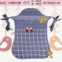 云南贵fo传统老式宝sa童的背巾衫背被(小)孩子背带前抱后背扇式