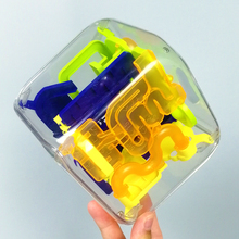 3D立fo迷宫球创意oa的减压解压玩具88关宝宝智力玩具生日礼物