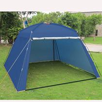 凉棚防fo户外遮阳棚nd外活动大棚子遮雨天幕银胶炊事沙滩帐篷