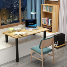 电脑桌fq台书桌宝宝ar写字桌台定制窗台改书桌台