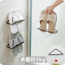 壁挂式fr用简易鞋托ow鞋架子挂墙鞋子收纳架 省空间