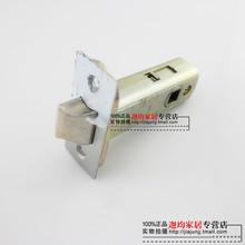 房门单fr舌 插芯锁ow式锁单舌头 锁零件锁配件 中心距50mm