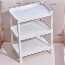 浴室置fr架卫生间(小)ck手间塑料收纳架子多层三角架子