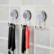 韩国dfrHub创意ka力真空吸盘挂钩子卫生间墙壁挂拖鞋门后挂架