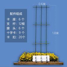 空中花fr无土栽培花ts架番茄架黄瓜支架家庭菜园阳台种菜设备