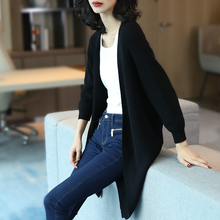 羊毛衣fs士冬装秋季kw020韩款中长式宽松显瘦针织打底开衫外套