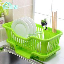 收纳架fs物架整理架pf架滤碗置物架碗架厨房碗架沥水架