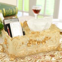 纸巾盒ft欧ins家th多功能茶几抽纸盒纸抽盒客厅遥控器收纳盒