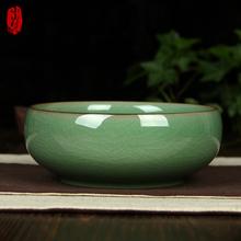 包邮龙泉青瓷fu瓷创意欧款co能复古中冼 家居办公室摆件