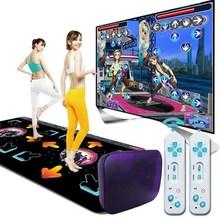 户外炫fu(小)孩家居电fa舞毯玩游戏家用成年的地毯亲子女孩客厅