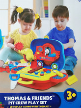 托马斯fu工程师宝宝sm纳箱套装 过家家工具玩具包邮