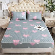 夹棉床fu单件席梦思si床垫套加厚透气防滑固定床罩全包定制