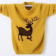 童装毛fw羊绒衫男童gs打底衫韩款圆领针织衫宝宝加厚秋冬新品