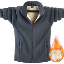 [fwgs]胖子冬季宽松加绒加厚夹克